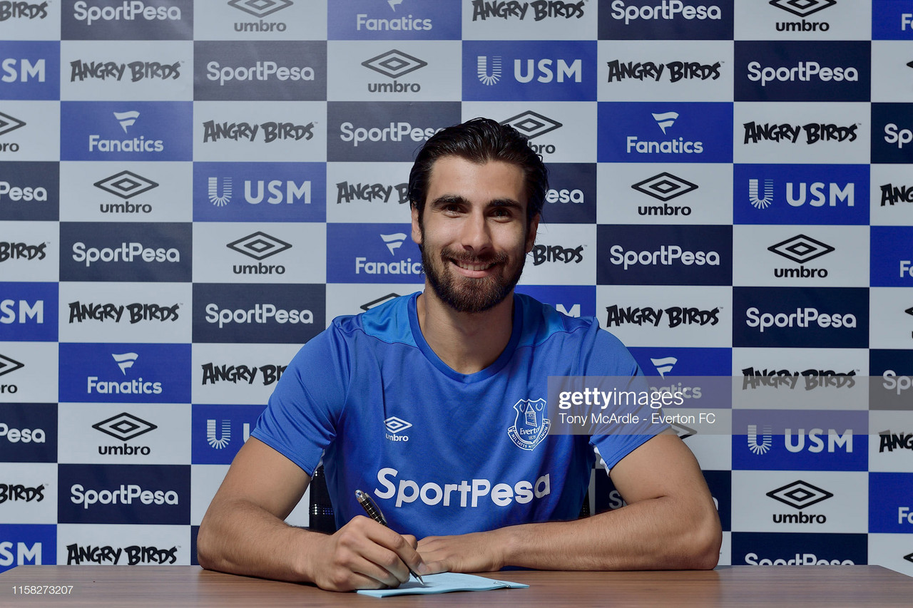 Everton complete permanent signing of Andre Gomes