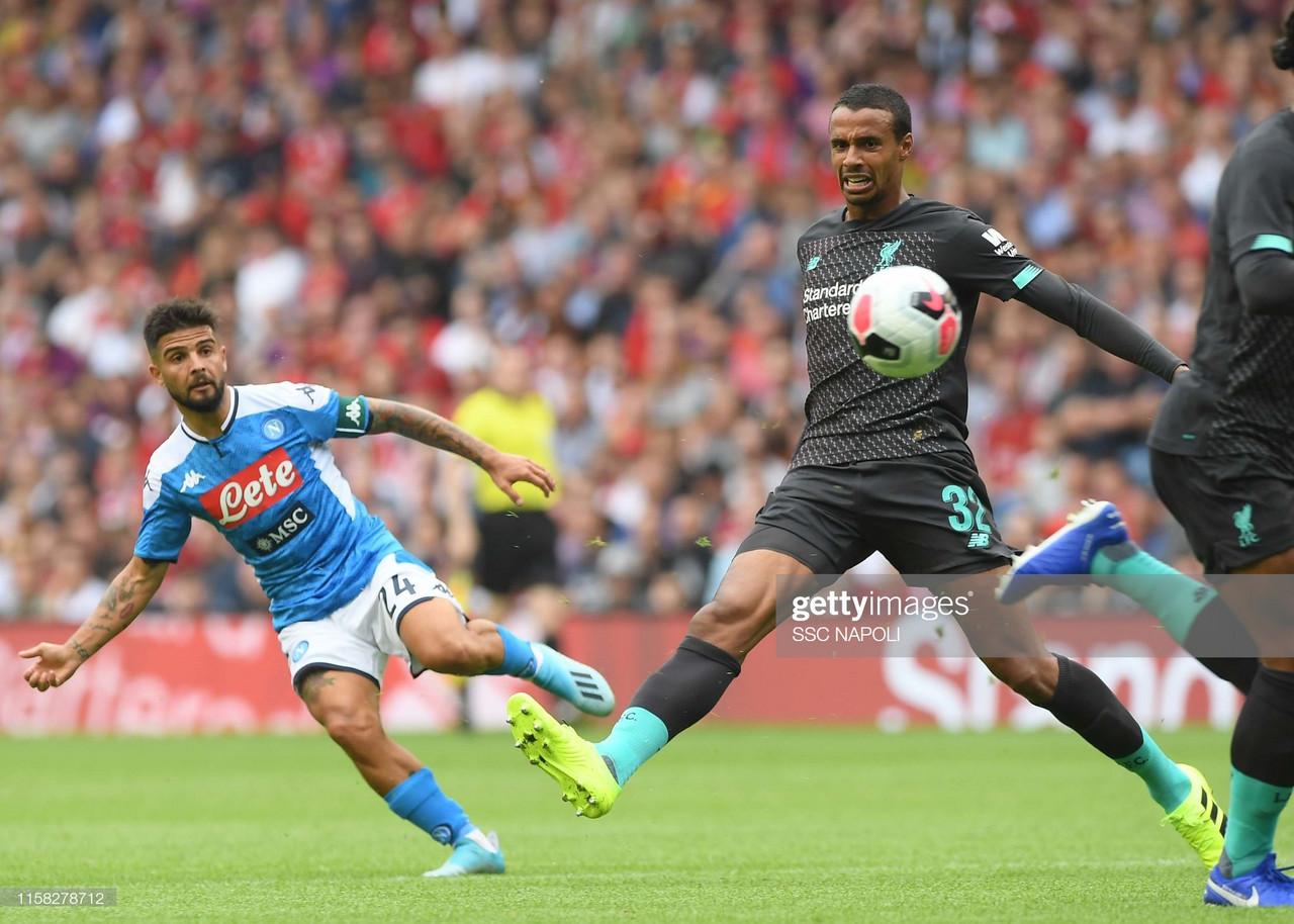 Liverpool 0-3 Napoli: Lacklustre Reds fall to third pre-season defeat