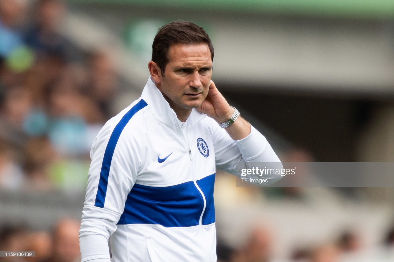Frank Lampard admits he already has his lineup prepared for the Premier League
