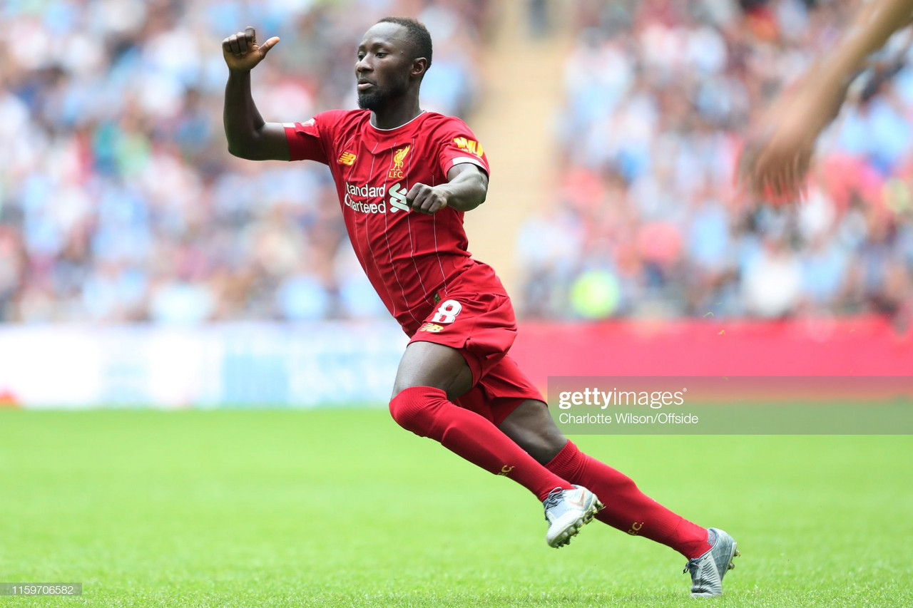 Naby Keita to return to training next week