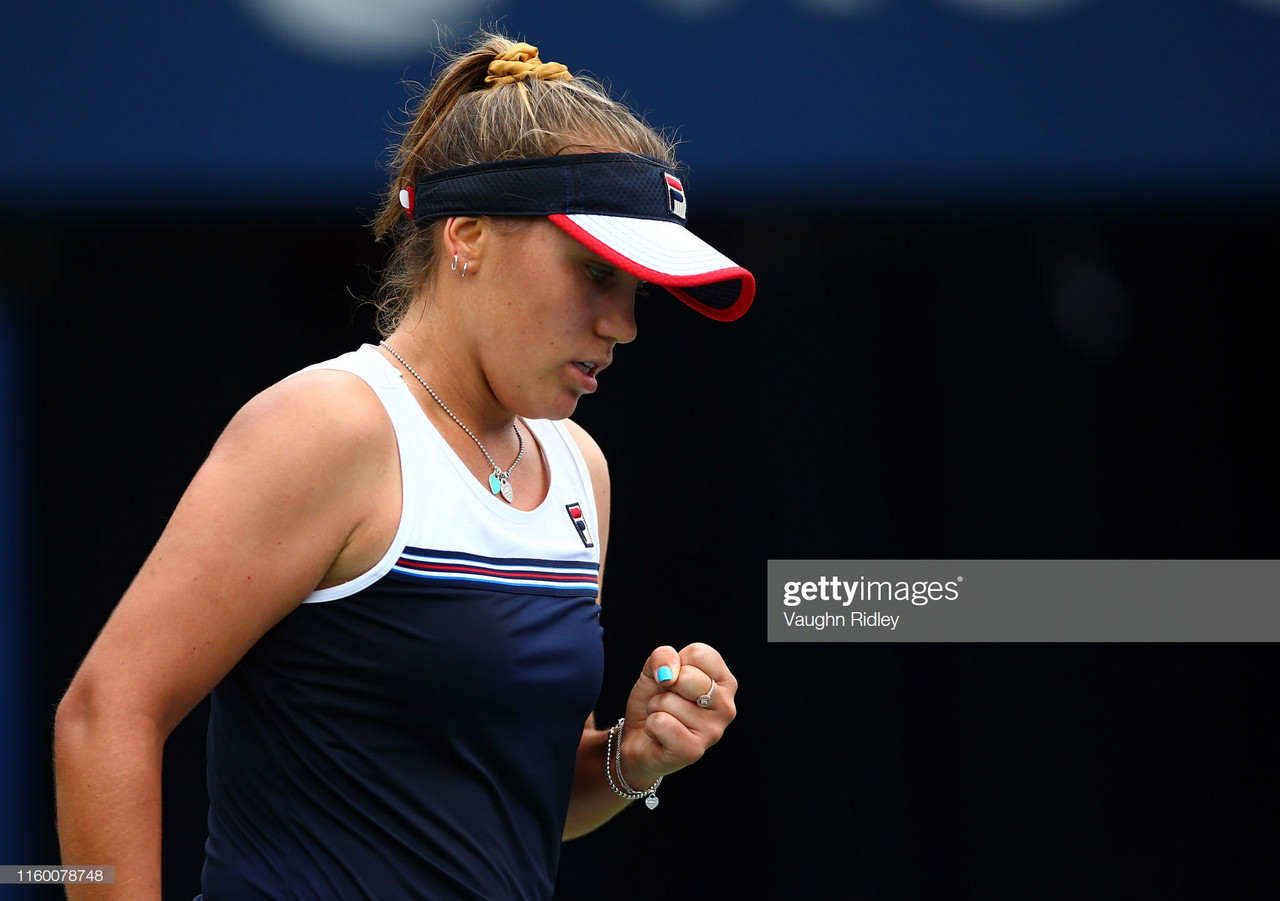 Rogers Cup: Sofia Kenin storms past Dayana Yastremska in straight sets