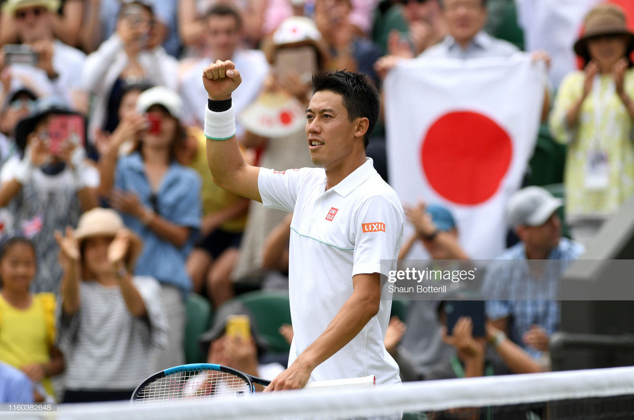 Wimbledon: Kei Nishikori sails into the fourth round with commanding display