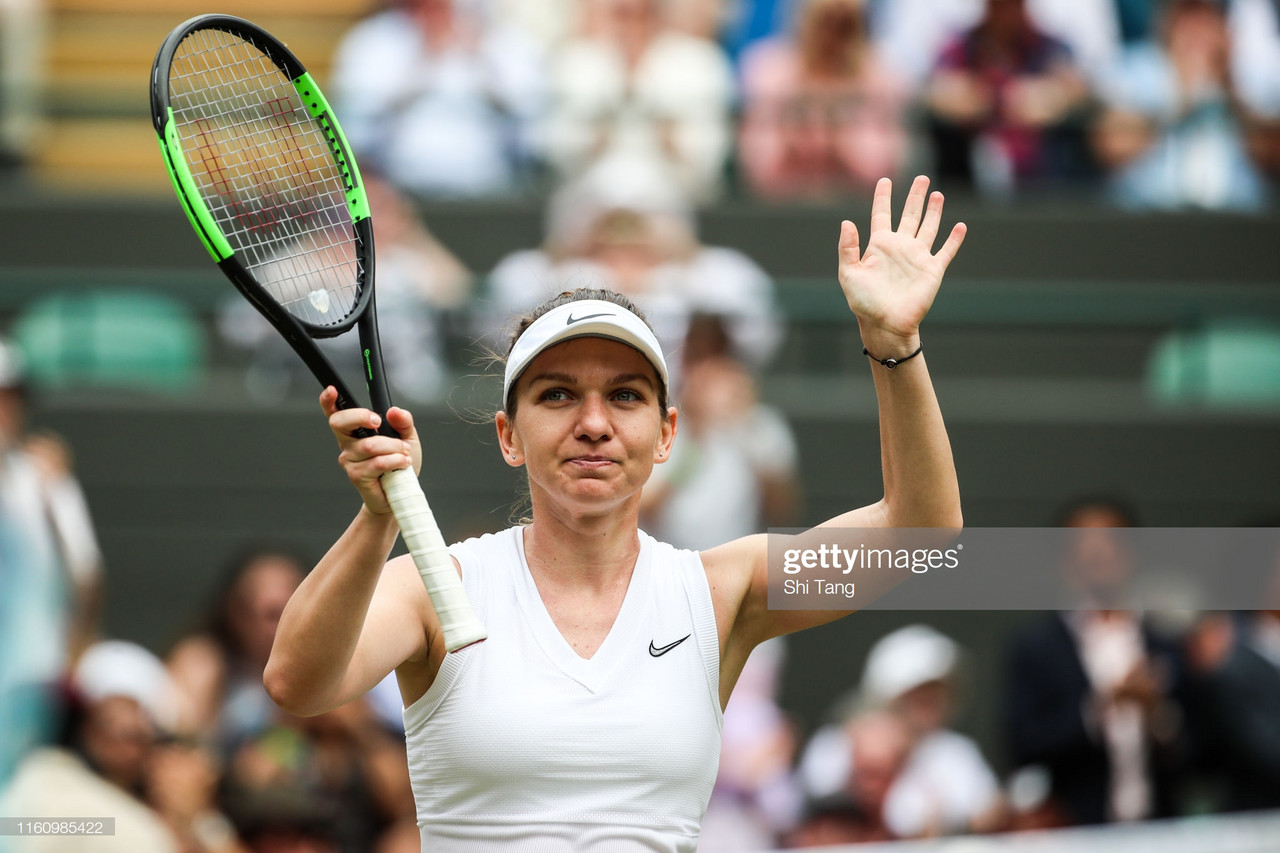 Wimbledon: Simona Halep overcomes slow start to reach semifinals