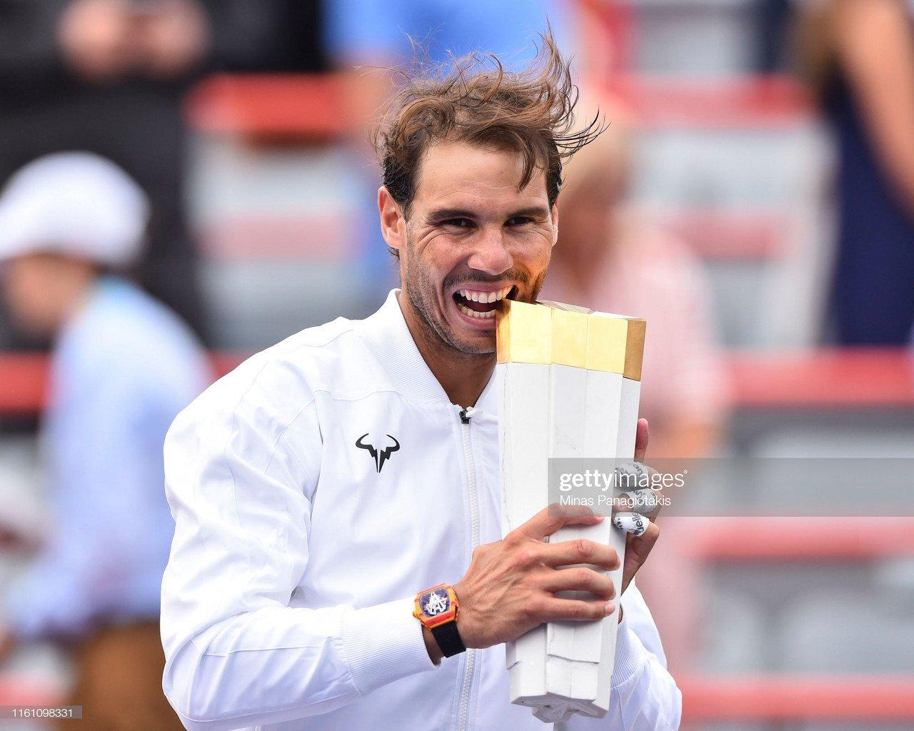 ATP Montreal: Rafael Nadal obliterates Daniil Medvedev in successful title defence