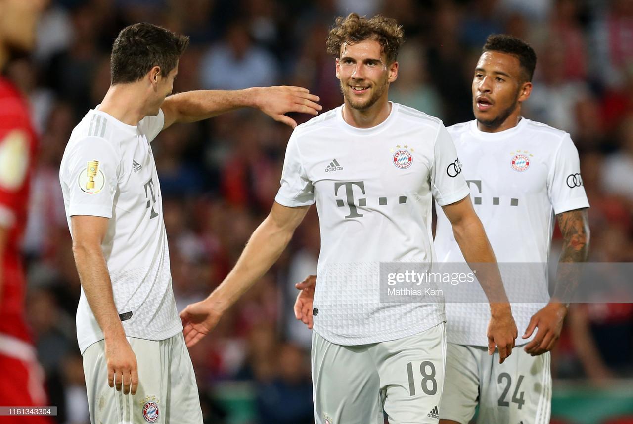 Energie Cottbus 1-3 Bayern Munich: Bavarians coast past easy fourth tier opposition