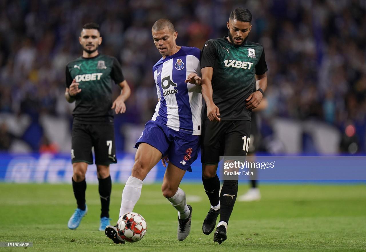 FC Porto de fora da Liga dos Campeões