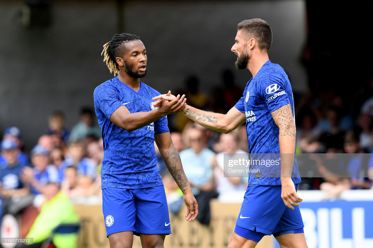 Chelsea 4-0 St Patrick's Athletic: Blues ease to victory in Ireland