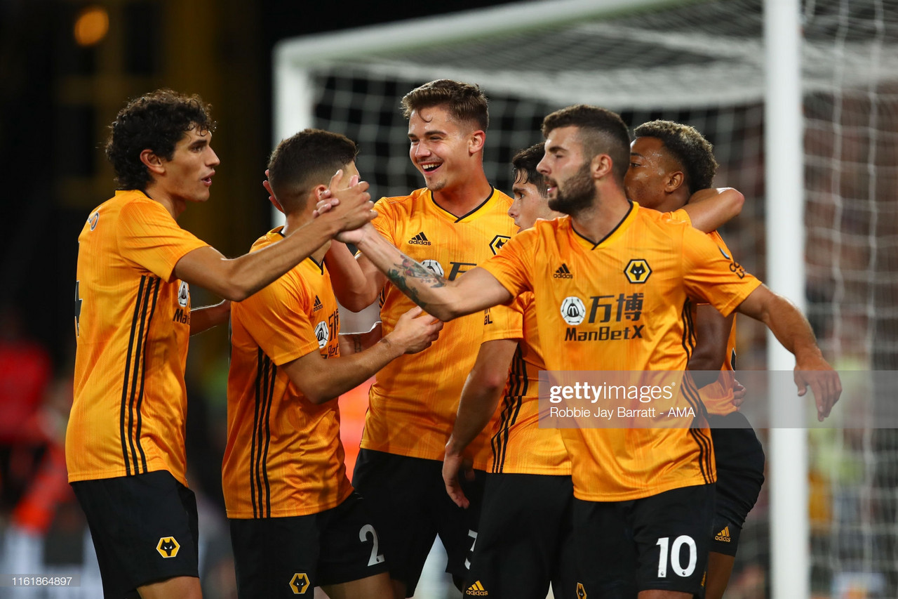 Wolves 4-0 Pyunik:Wolves cruise past Pyunik