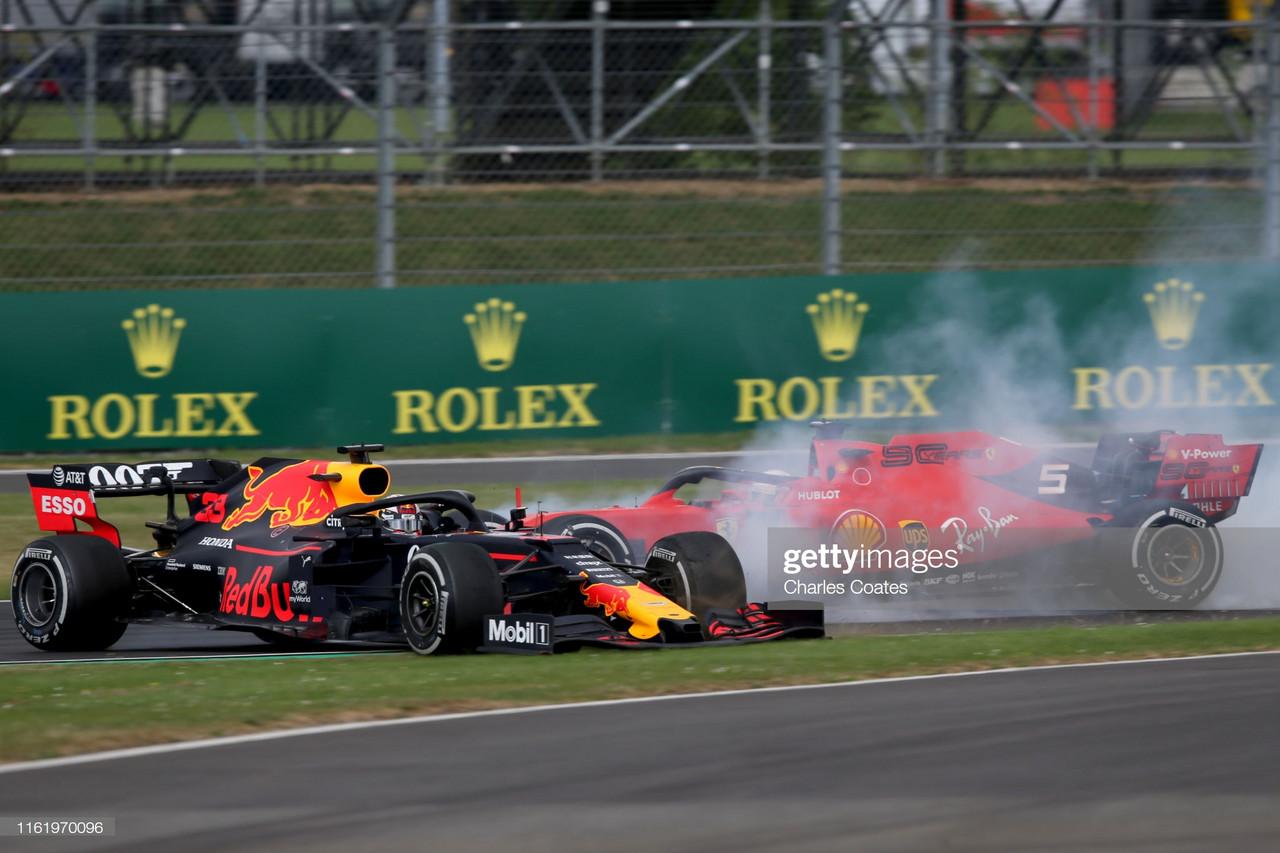 F1 Report: Hamilton wins record sixth British Grand Prix whilst Vettel collides with Verstappen