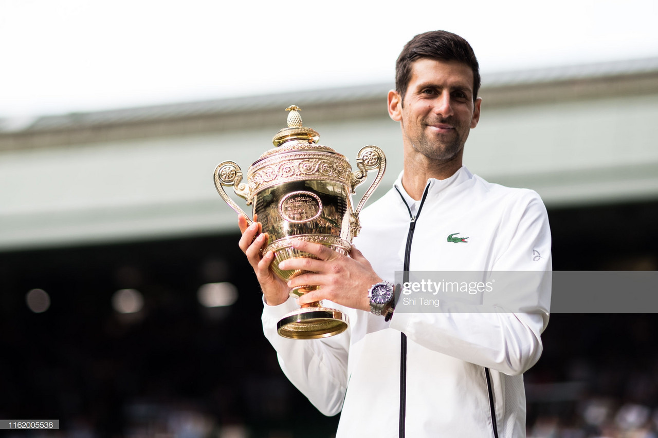 Wimbledon: Novak Djokovic wins 16th Grand Slam title with final set tie-break triumph over Roger Federer