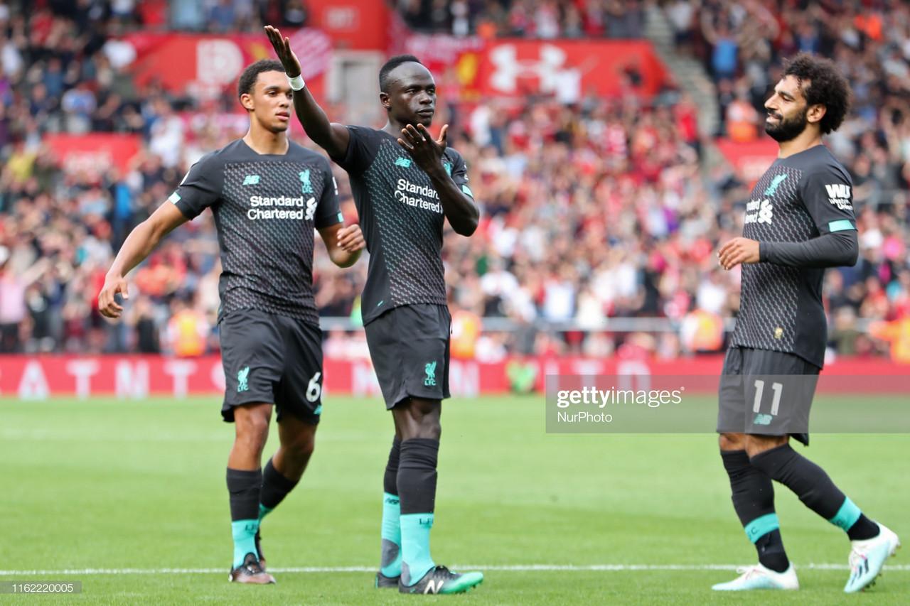 Southampton 1-2 Liverpool: Mane inspires win despite Adrian howler