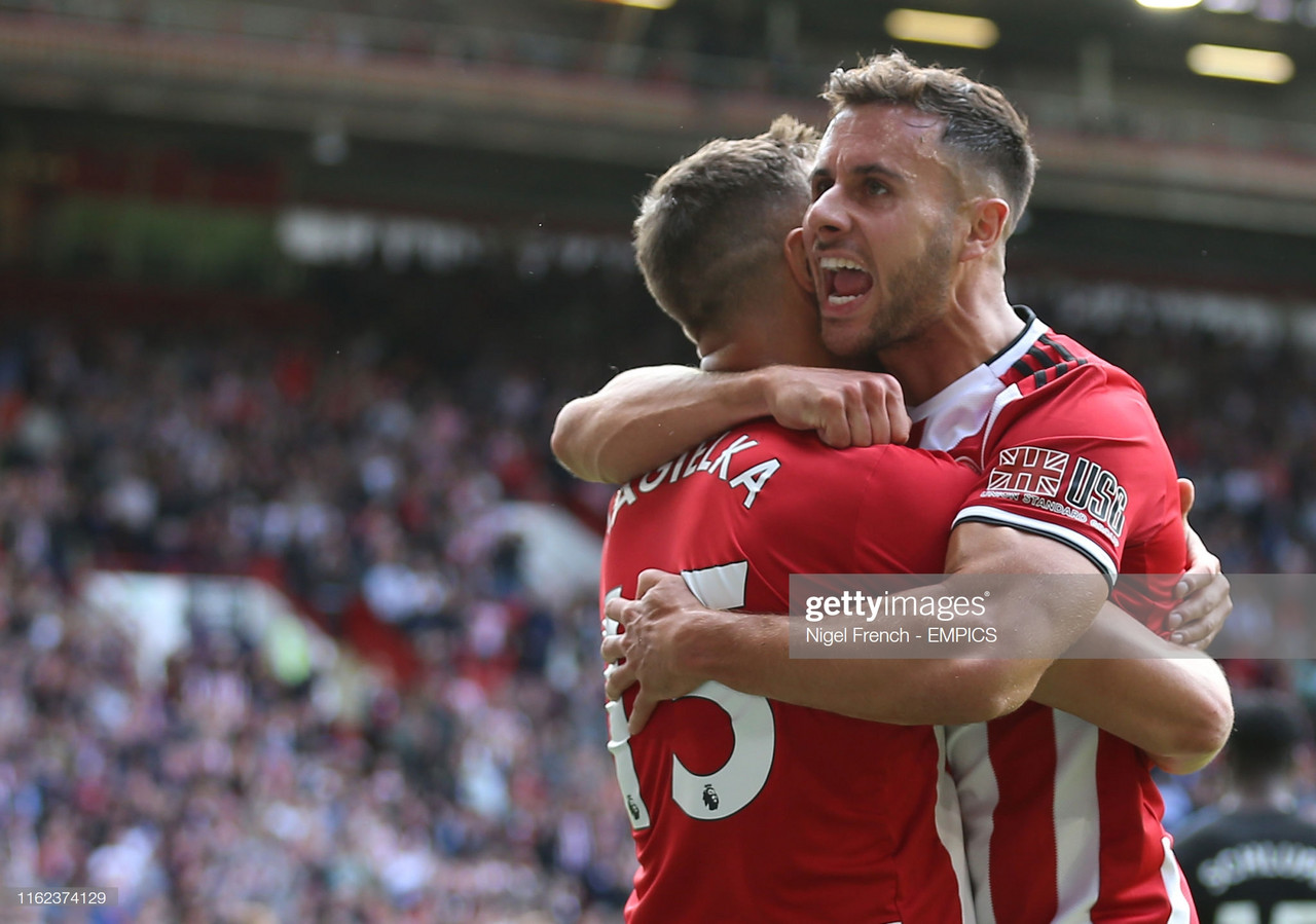 The Warm Down: Sheffield United win in first Premier League game back at Bramall Lane