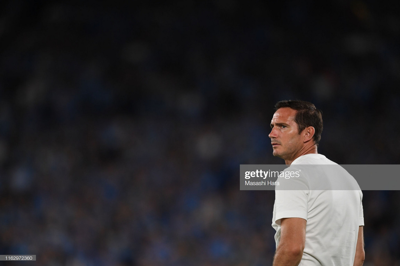 Lampard's first Chelsea loss leaves him discontent with quality on show