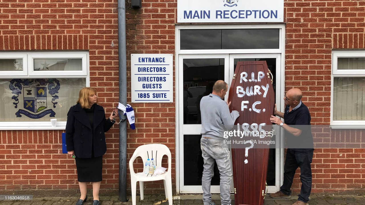 The possible last day of Bury FC