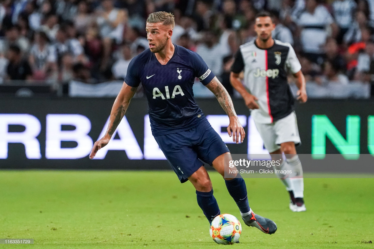 Toby Alderweireld says his focus is on Spurs but a move away is possible