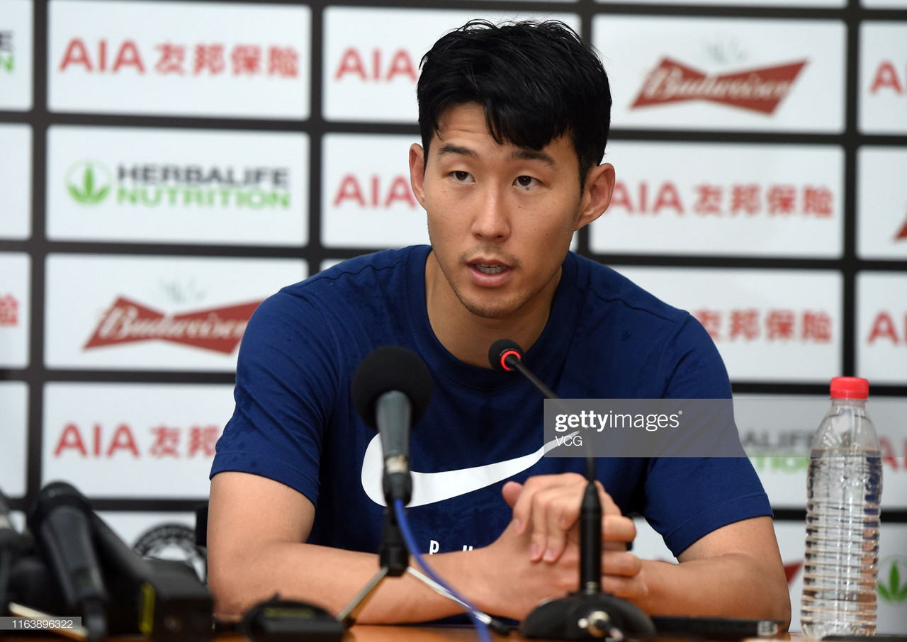 Heung min-Son admits Spurs 'need a trophy' this season