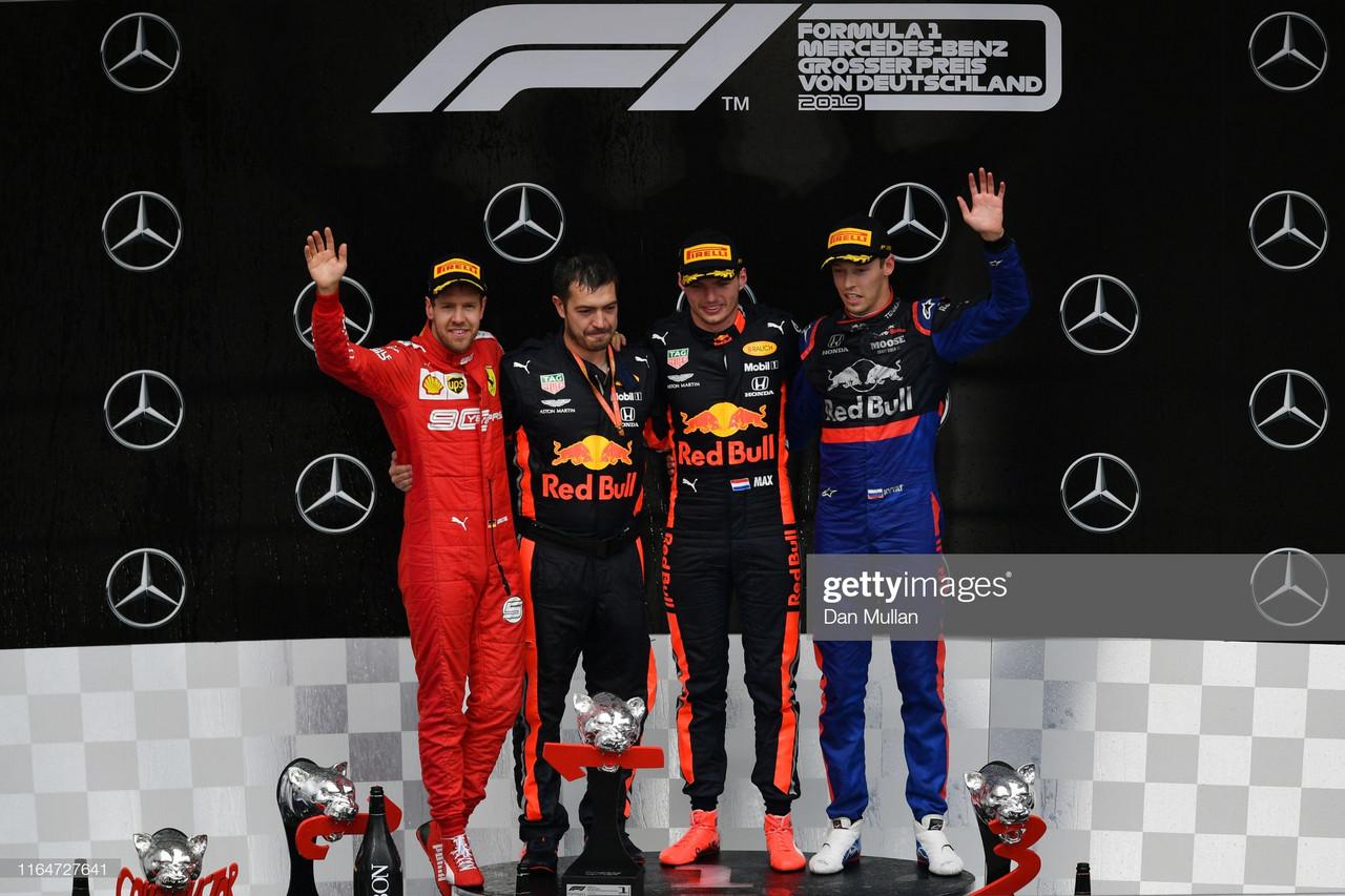 F1 2019 German GP: Verstappen wins crazy race as Mercedes struggle