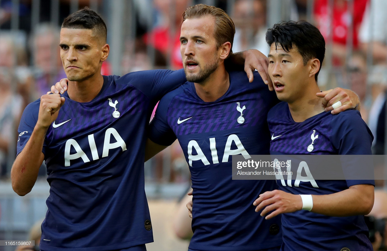 Real Madrid 0-1 Tottenham Hotspur: Harry Kane's first-half strike sends Spurs to Audi Cup final