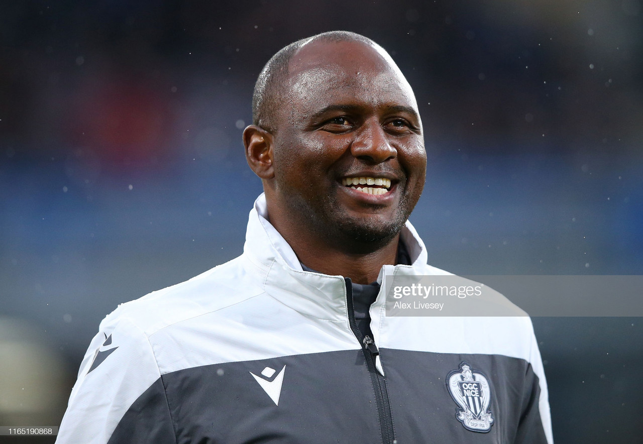Crystal Palace confirm Patrick Vieira as new manager on a three-year deal
