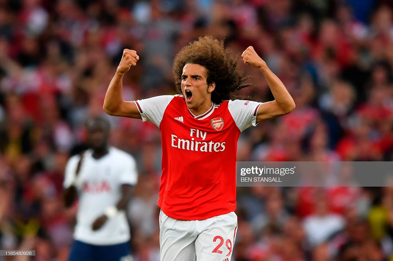 Unai Emery praises Guendouzi after strong display in North London derby