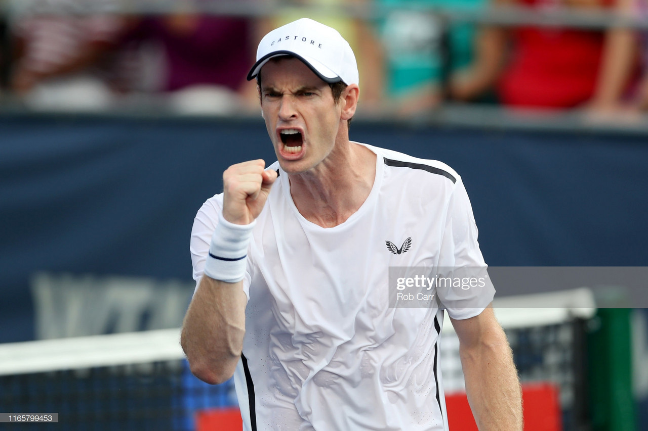 Andy Murray to return to singles action in Cincinnati