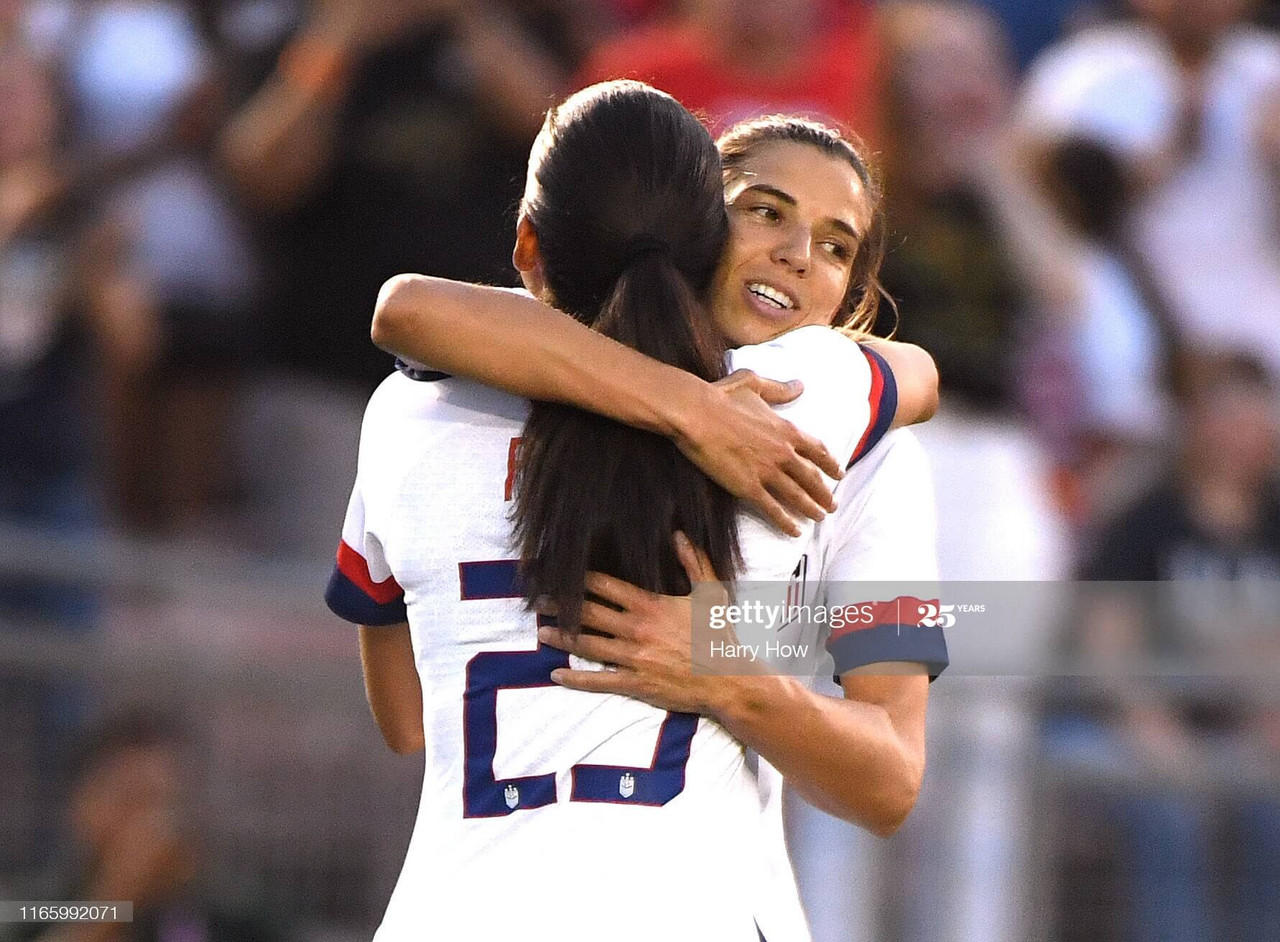 USWNT stars Christen Press and Tobin Heath join Manchester United