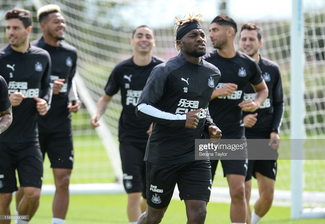 Newcastle United reveal 25-man Premier League squad