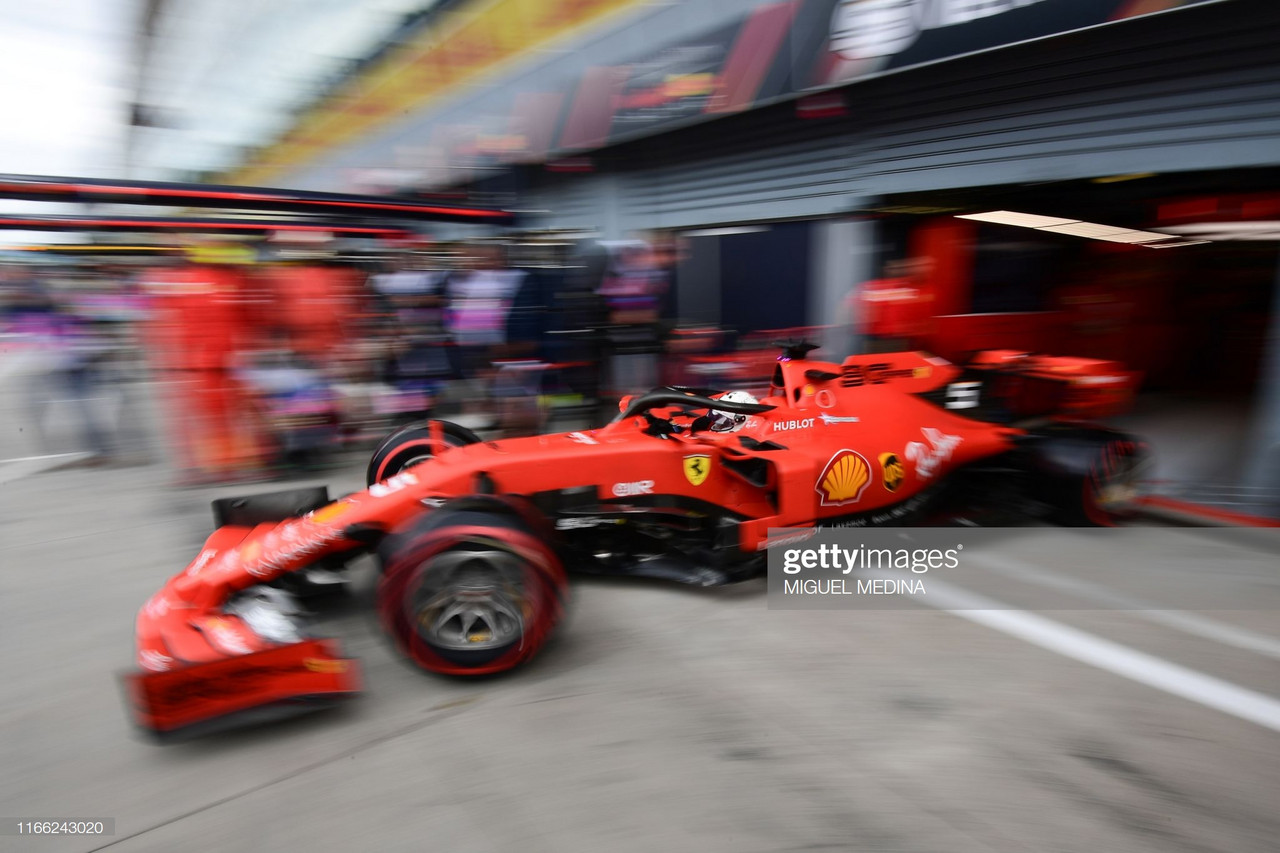 Ferrari continue dominance in FP2