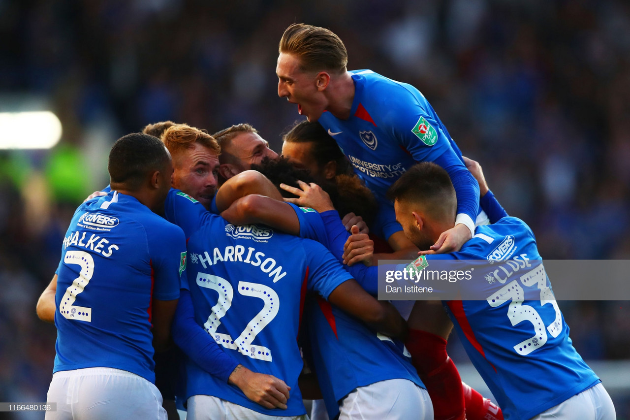 Portsmouth 3-0 Birmingham City: Pompey storm into round two with an emphatic victory over Championship side