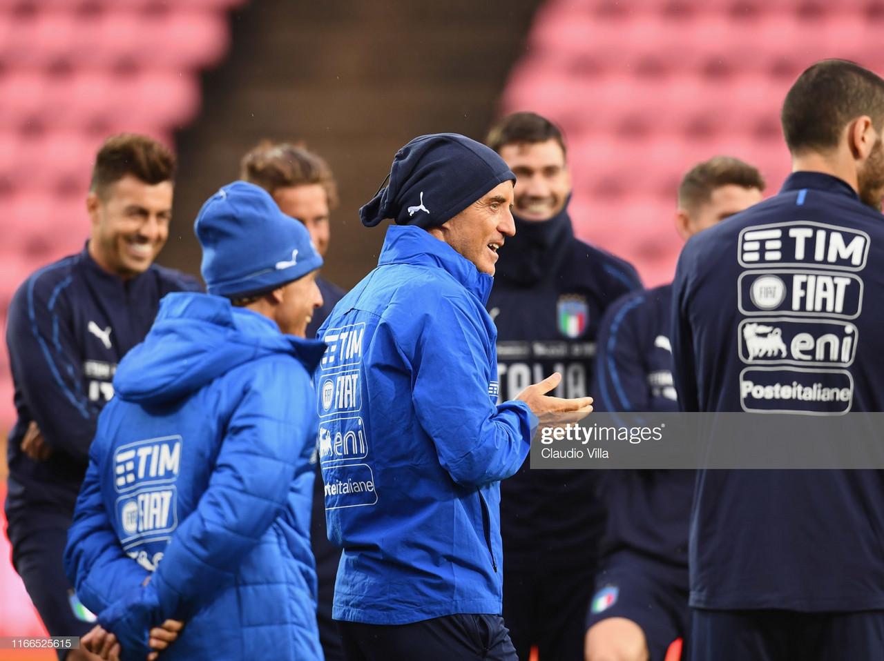 New Coach, New Italy