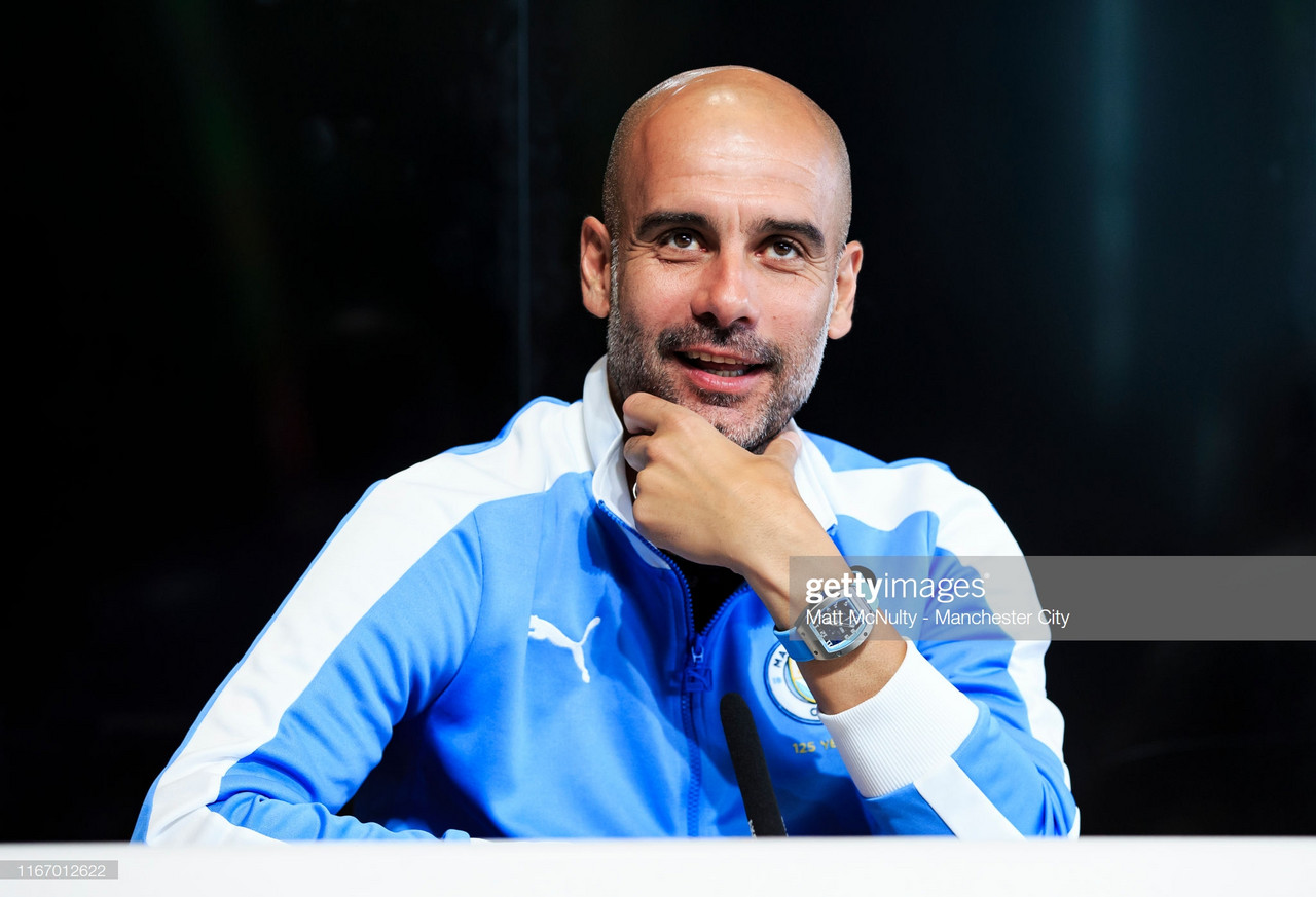 "Guardiola describes Spurs as ""The second best team in Europe"""