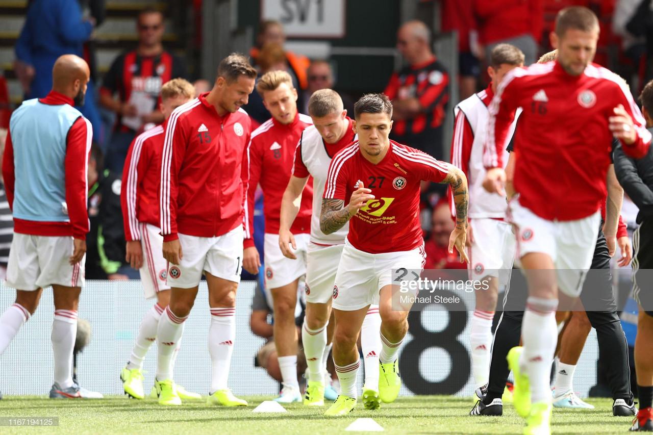 Muhamed Bešić takes his Sheffield United chance