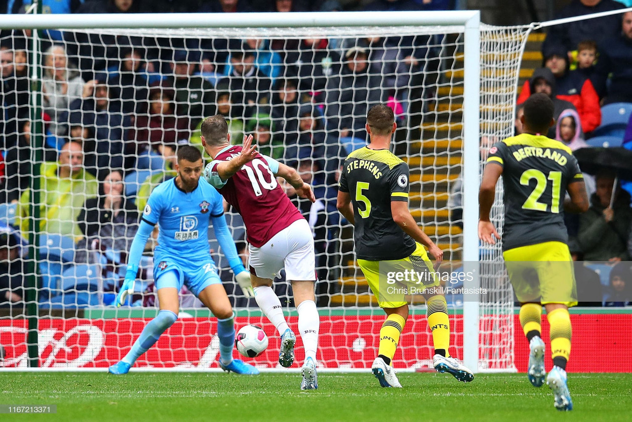 Burnley 3-0 Southampton: Dyche's men run riot on opening weekend