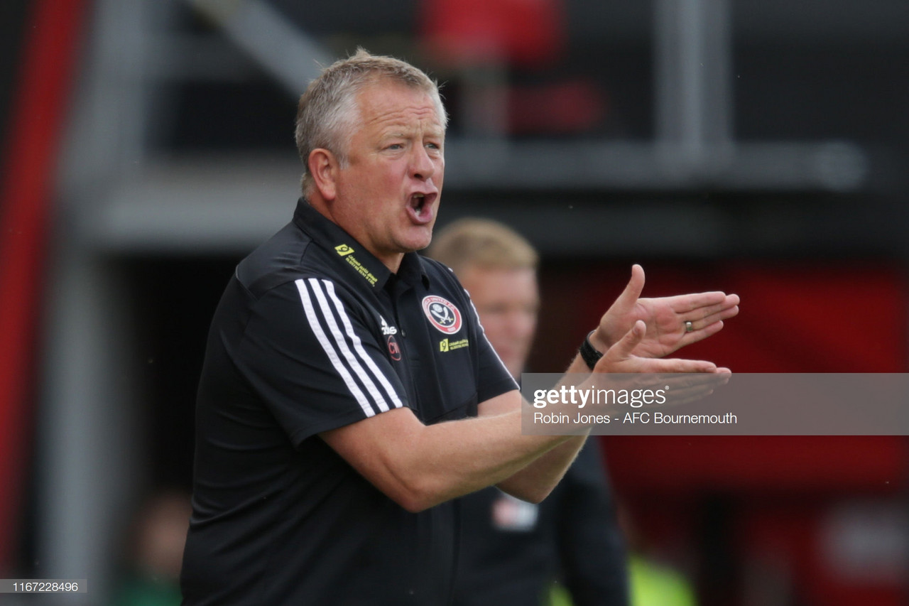 Chris Wilder 'delighted' as Sheffield United snatch late point at Bournemouth