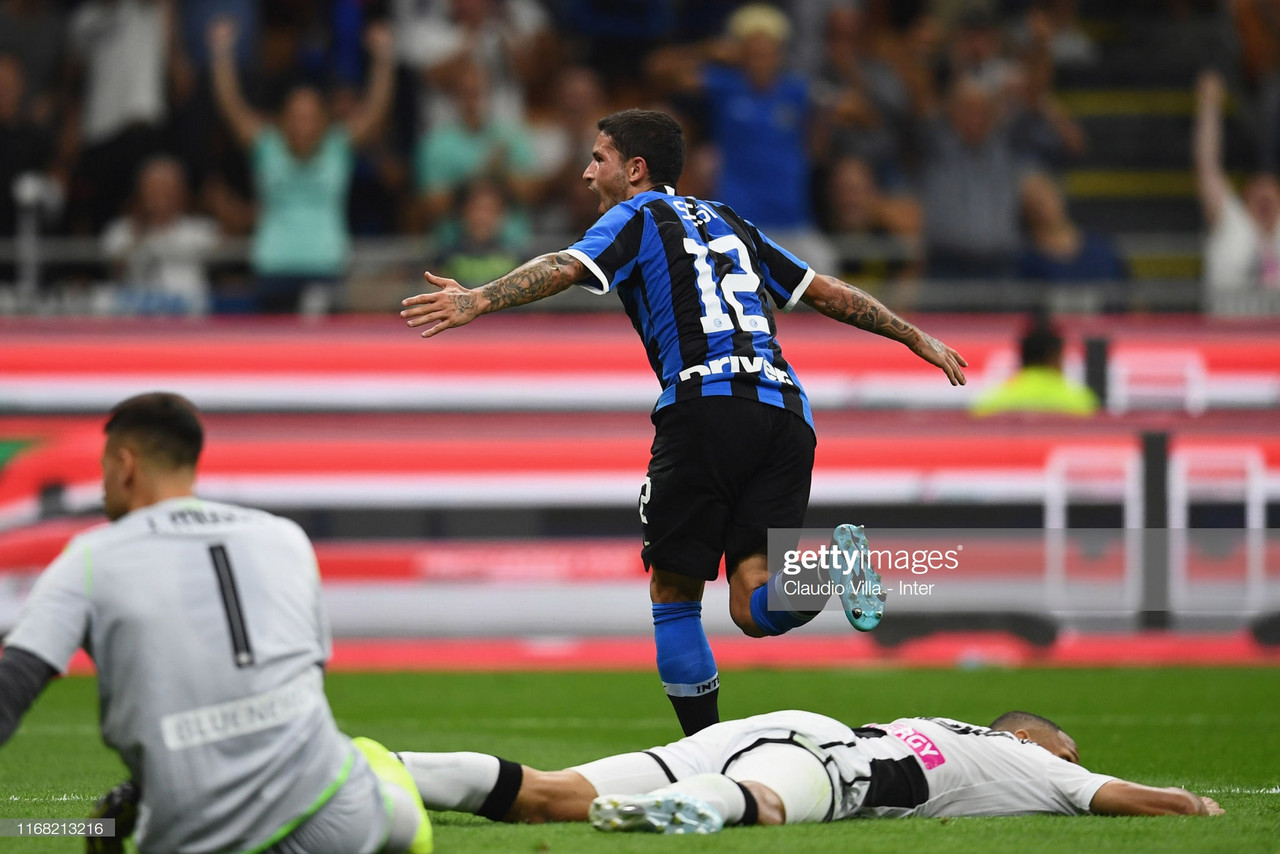 Inter Milan 1-0 Udinese: The Nerazzurri retain top spot after narrow win over 10-man Udinese