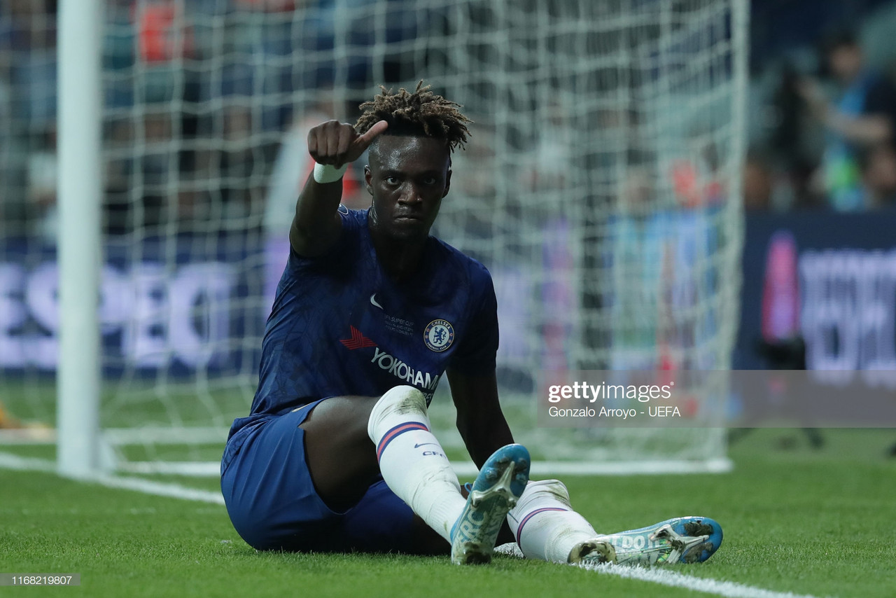 Tammy Abraham announces Chelsea ambitions