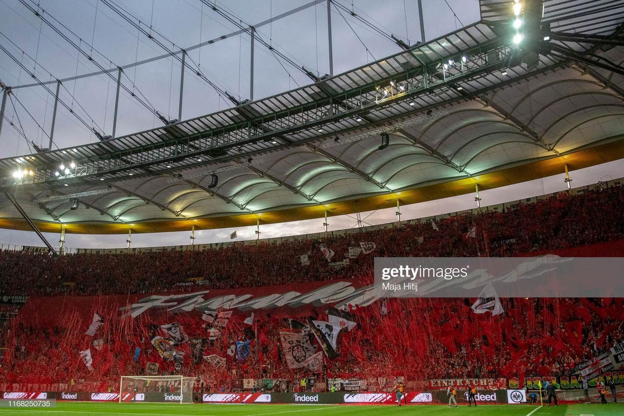 Eintracht Frankfurt 1 - 0 FC Vaduz: Eagles breeze through to playoff qualifying round
