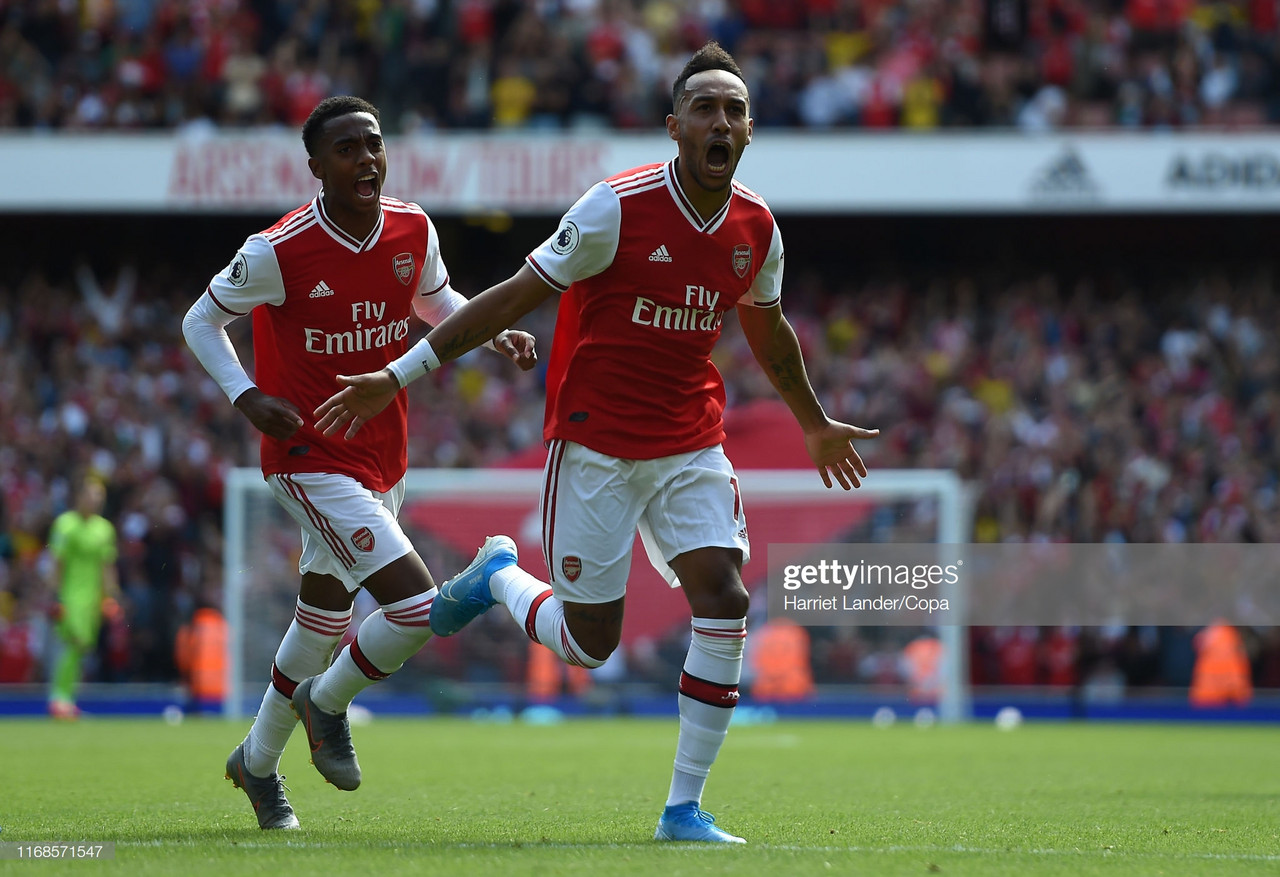 Arsenal 2-1 Burnley: Aubameyang's strike earns the Gunners all three points against a resolute Burnley