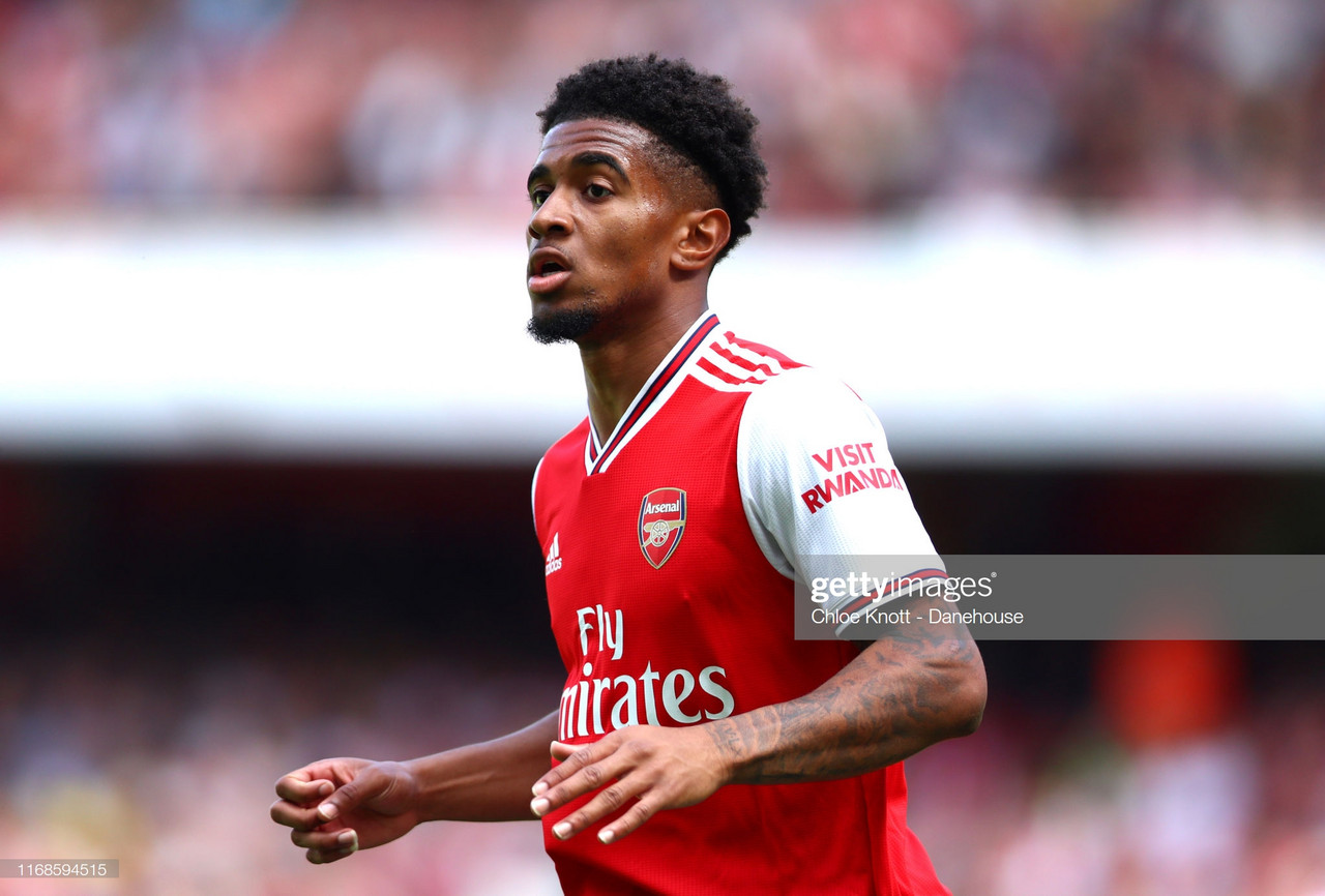 Experienced teammates helping Reiss Nelson adjust after first-team breakthrough