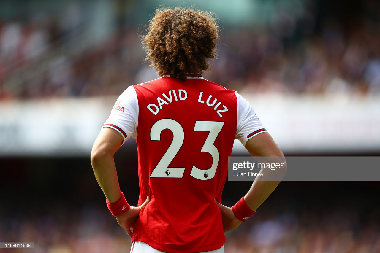 "David Luiz sought the ""challenge"" of moving to Arsenal"
