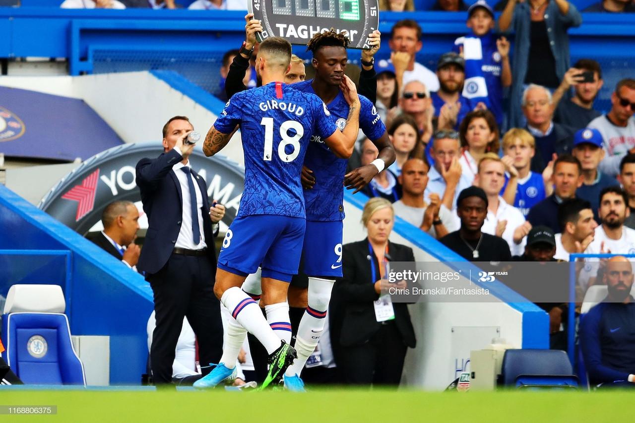 Tammy Abraham or Olivier Giroud: Who should be starting for Chelsea against Aston Villa?