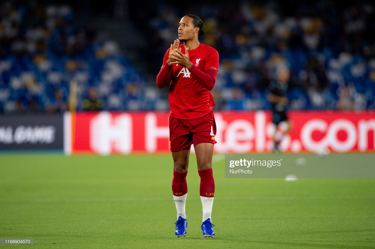 Virgil van Dijk denies contract talks despite rumours