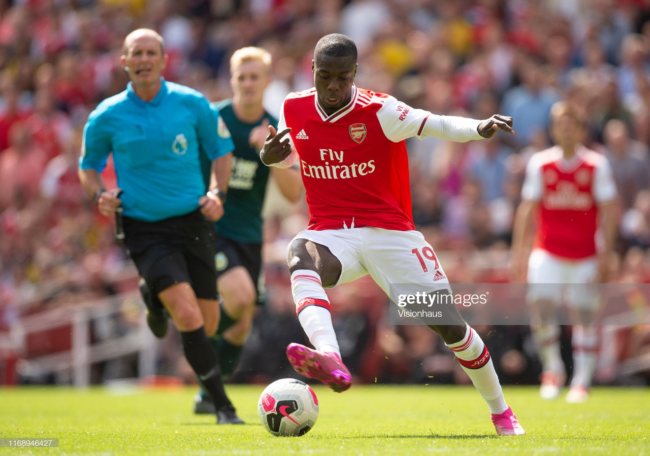 Nicolas Pepe already settling into life at Arsenal