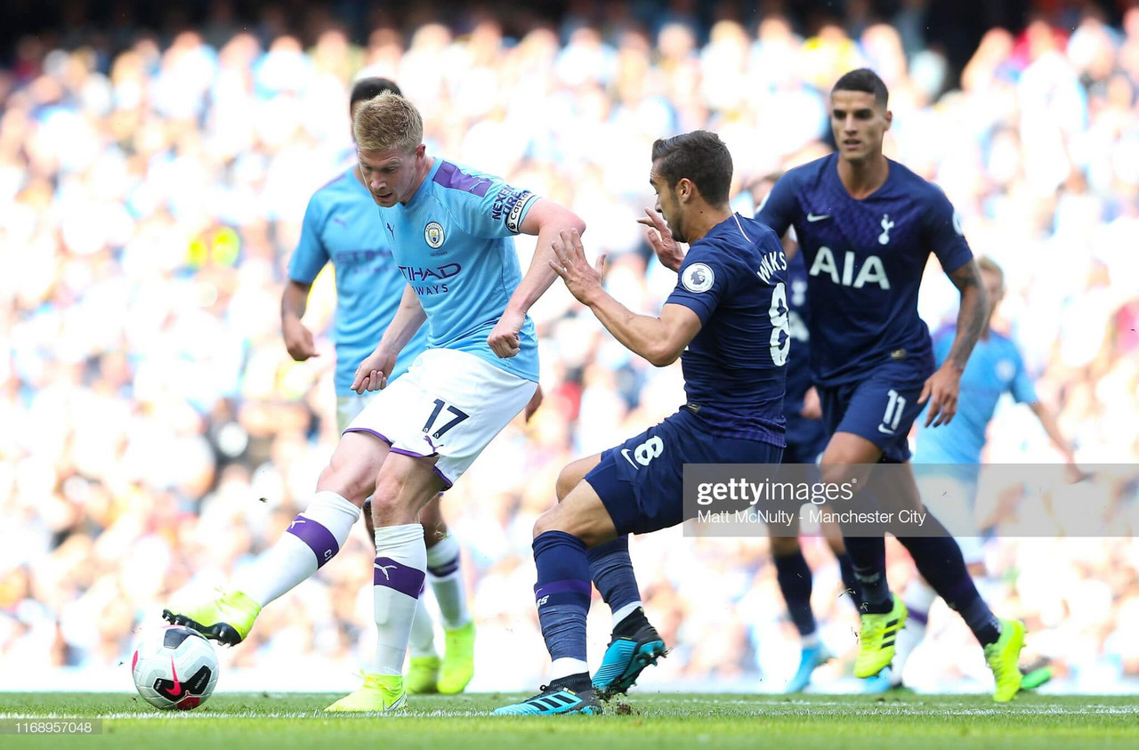 As it happened: 10-man City punished by ruthless Spurs