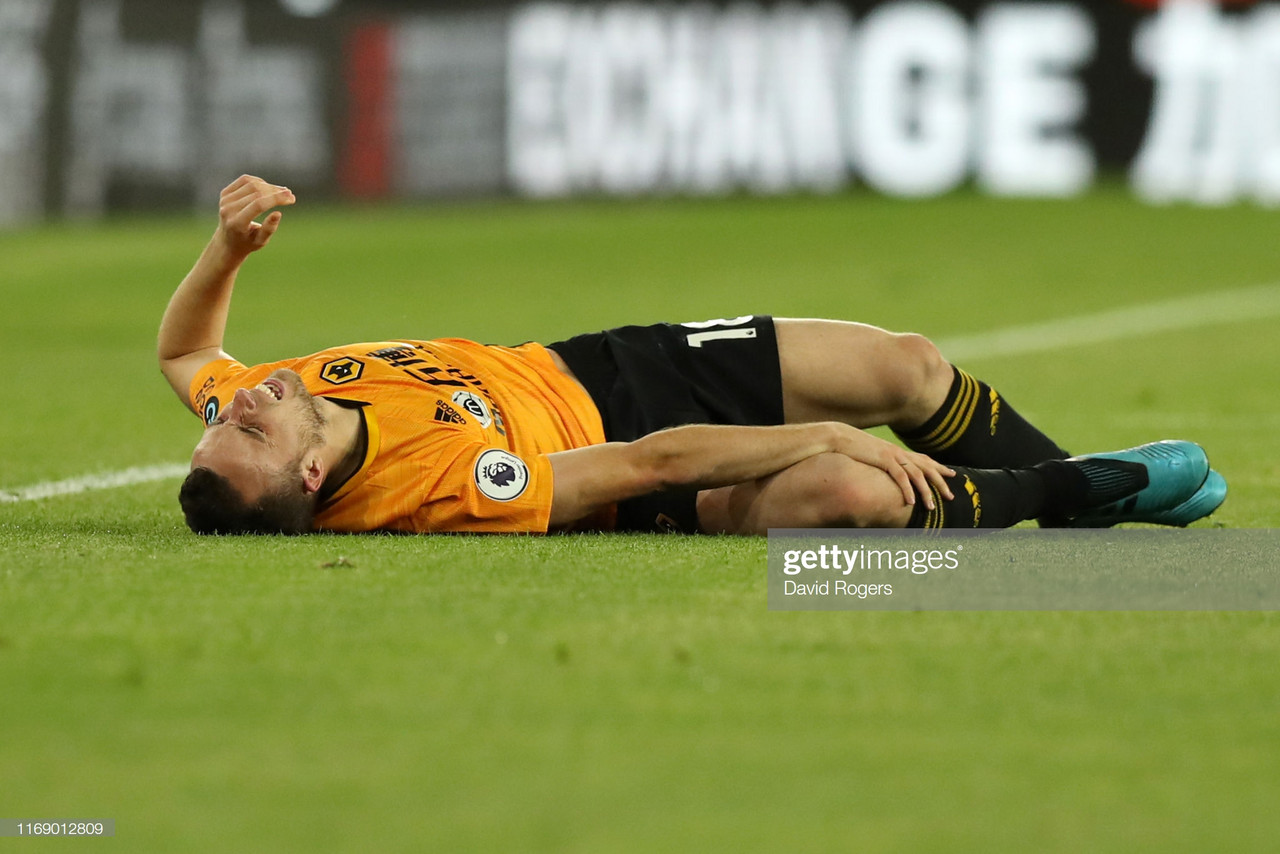 Nuno Espirito Santo gives an update on injured Diogo Jota ahead of important City fixture