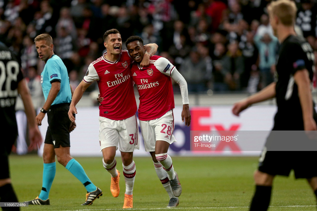 Eintracht Frankfurt 0-3 Arsenal: The Warm Down