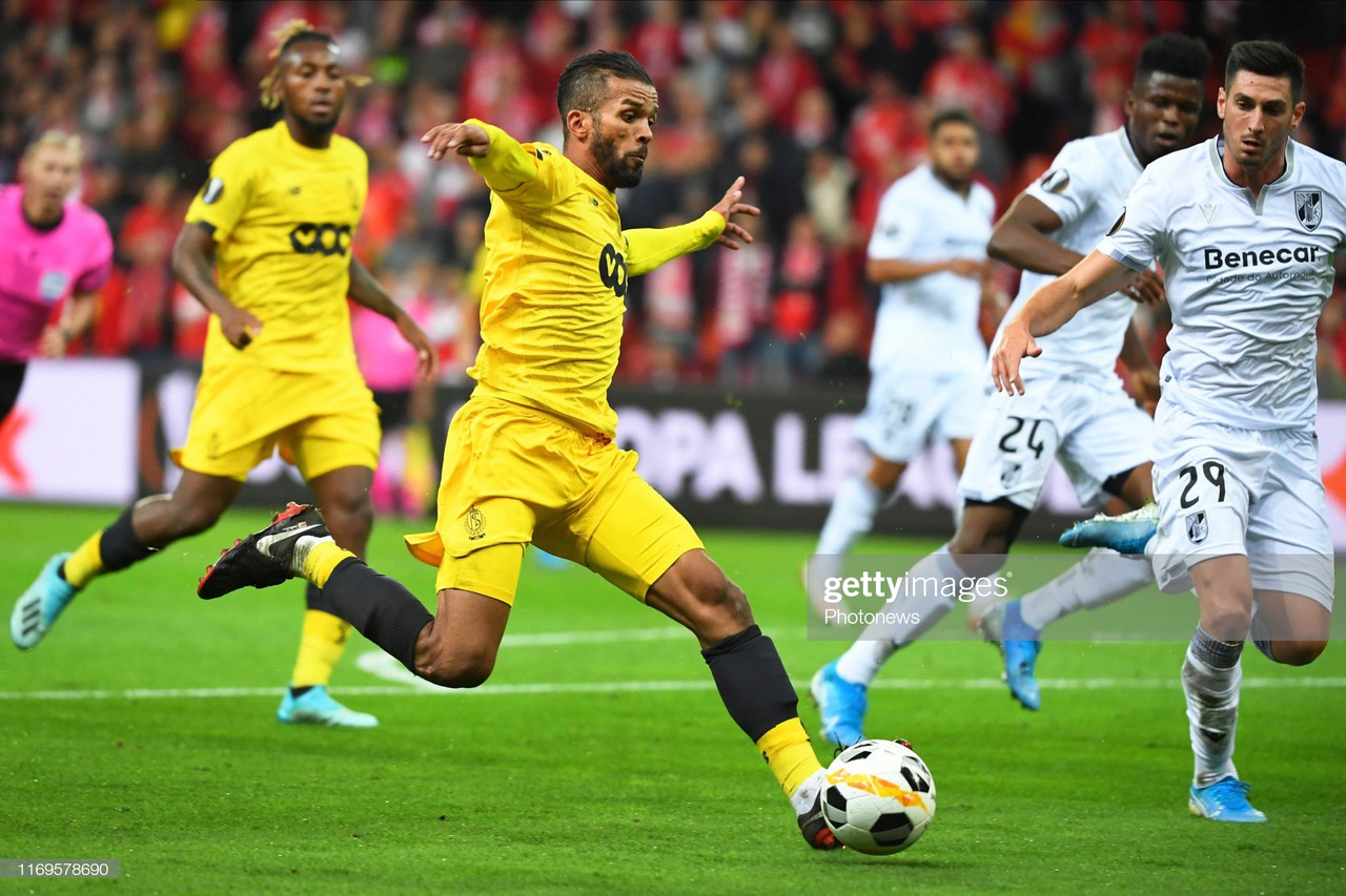 Vitória de Guimarães entra a perder na Liga Europa
