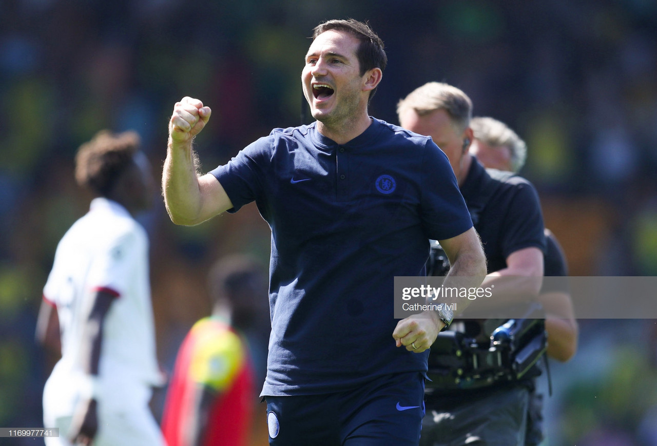 Frank Lampard: I spoke to Tammy before the game and told him today was the day