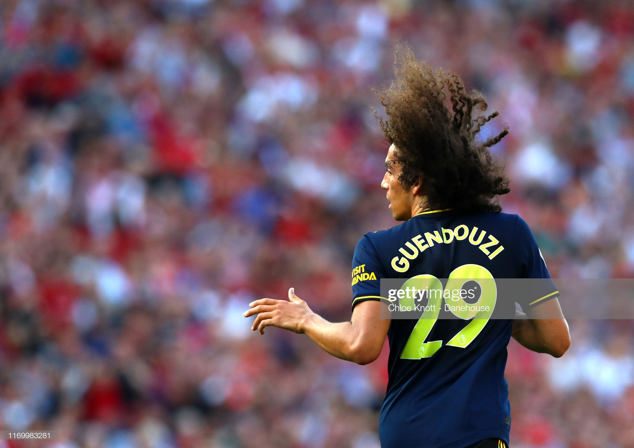 Guendouzi a perfect example for fellow youngsters, says Emery