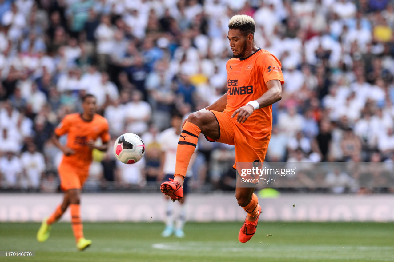 The jury's out on Joelinton - but give him the time he needs